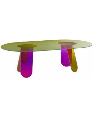 Table Glas Italia Shimmer