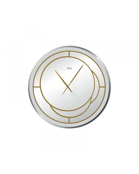 Riflessi Positano Clock Mirrored Surface