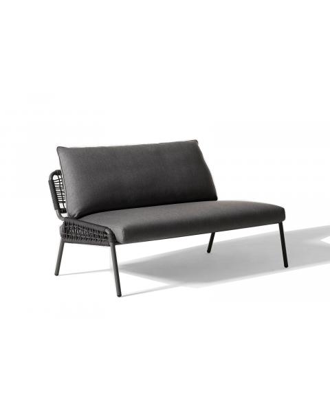 Meridiani Zoe Outdoor Sofa Black Color