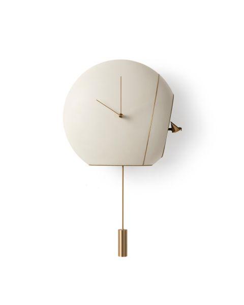 Giorgetti Cuckoo Clock Acessory White And Gold