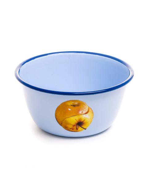 Enamel Bowl Seletti Apple