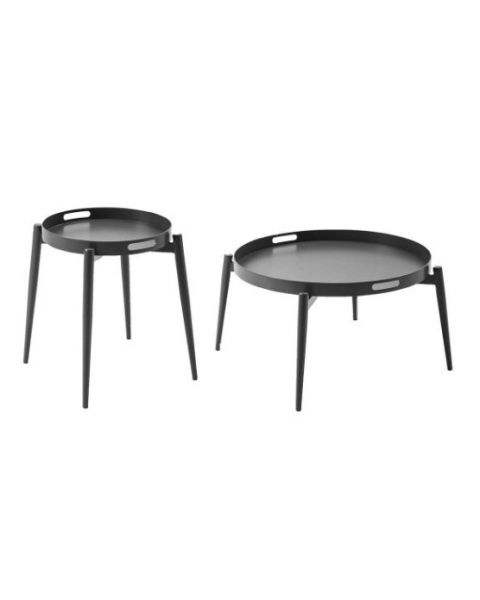 Braid Teodora Set of 2 Tables with Tray