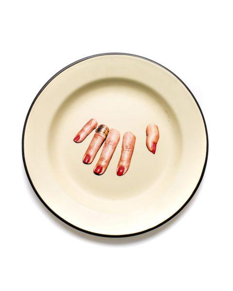 Enamel Plate Seletti Fingers