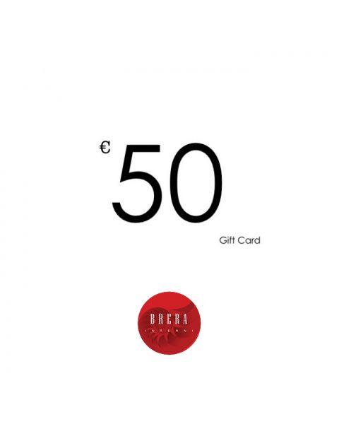 Brera Interni Gift Card 50