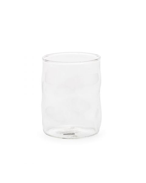 Glass Set of Four Seletti Glass from Sonny