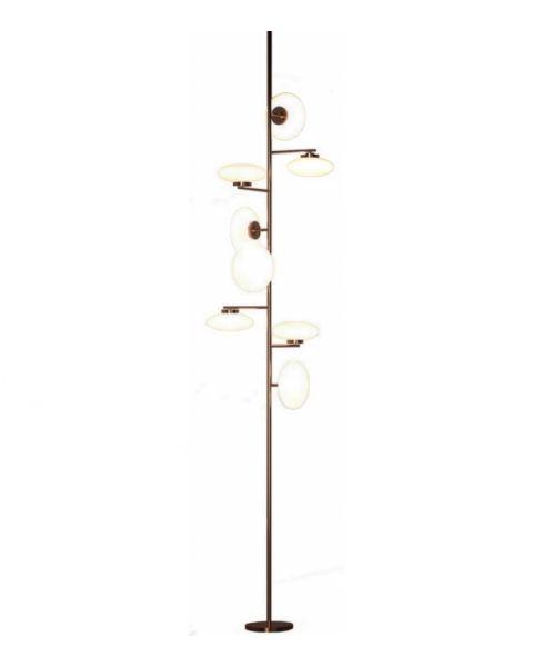 Floor - Ceiling Lamp Penta Light Mamì