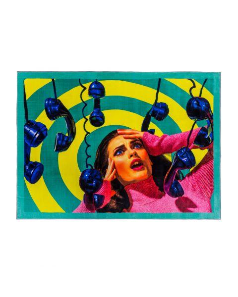 Rectangular Rug Seletti Phone