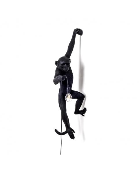 Lamp Seletti The Monkey Black Hanging Version