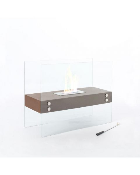 Stones Theremin Fireplace