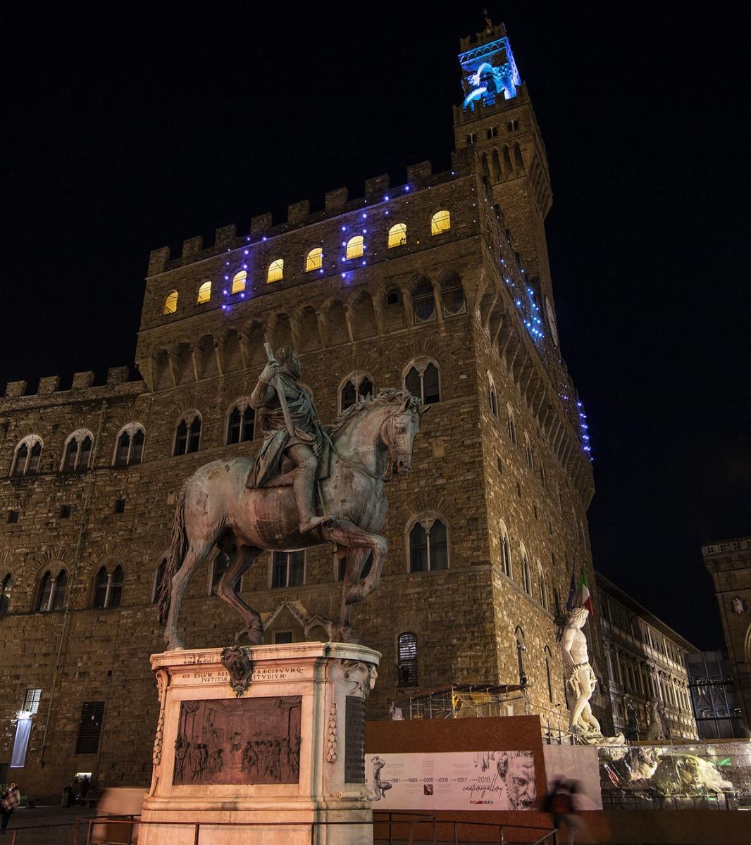 Palazzo Vecchio, Lighting Project Of Linea Light