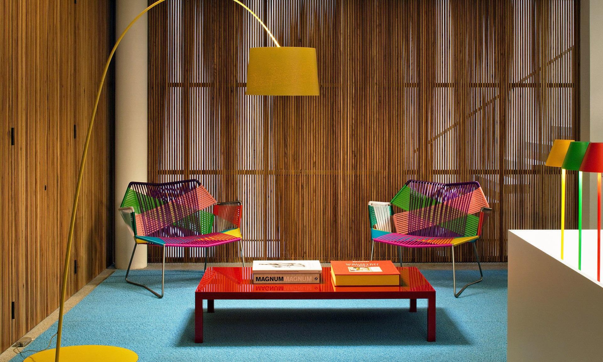 Patricia Urquila Colored Furniture Moroso Chairs