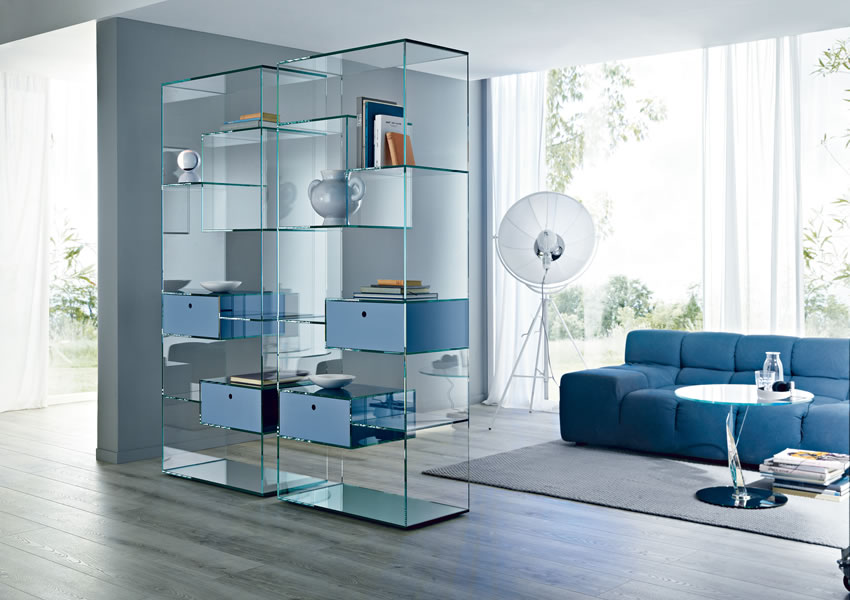 Liber Bookcase Of Tonelli Design Is The Perfect Furniture For A Modern Lighting