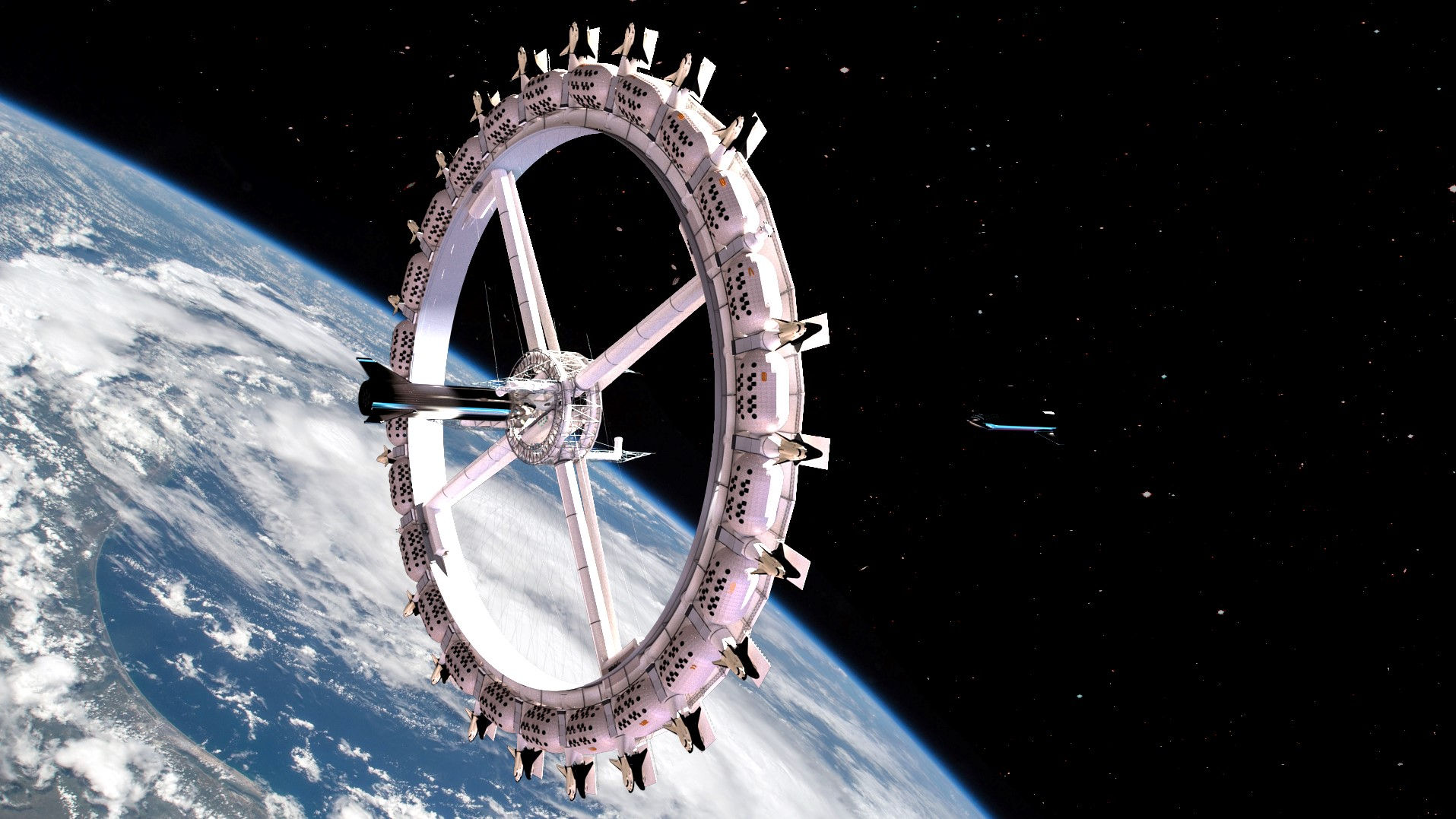 Voyager Station, Space Base Architecture