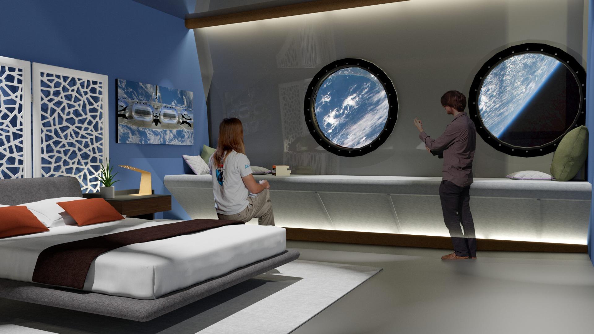 Voyager Station, Interiors, Bedroom Design