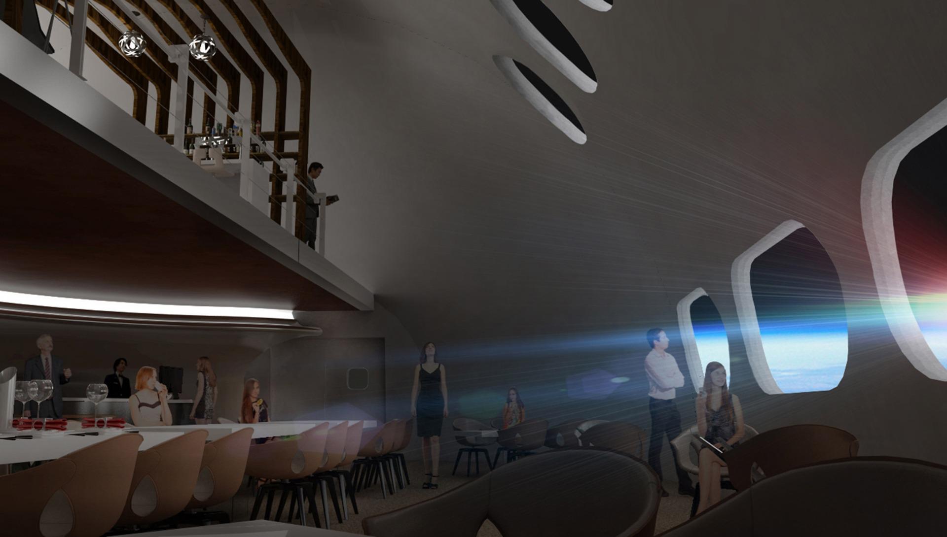 Voyager Station, Interiors, Dining Room Design