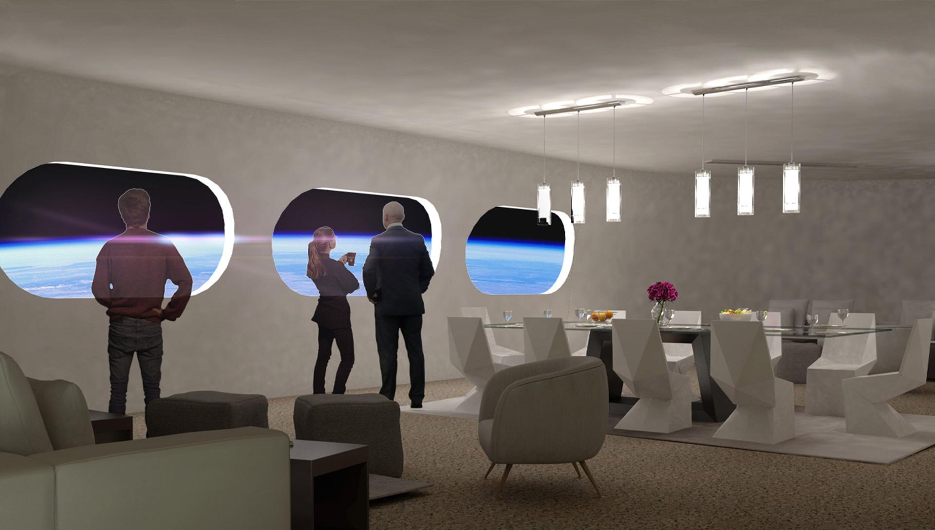 Voyager Station, Interiors, Living Room Design