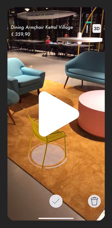 Brera Interni Augmented Reality Video