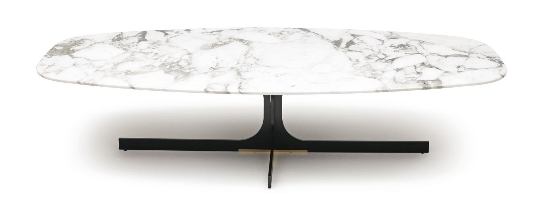 MisuraEmme Janus Marble White Small Table