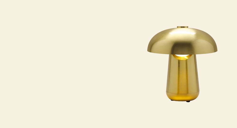 Contardi Ongo Table Lamp Gold Version